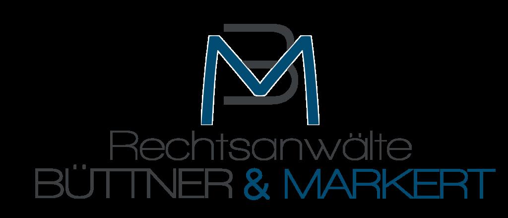 Logo und Home-Button der Anwaltskanzlei Büttner & Markert